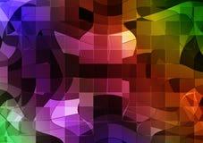 Mosaico futuristico Fotografie Stock Libere da Diritti
