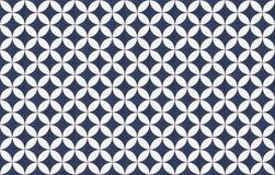 Mosaico geométrico del diseño del modelo de las tejas imagen de archivo