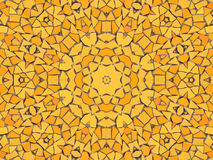 Mosaico giallo Fotografia Stock