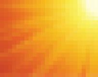 Mosaico giallo ed arancione astratto Fotografie Stock