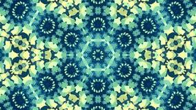 Mosaico giratorio de abstracción ilustración del vector