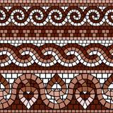 Mosaico greco illustrazione di stock