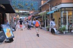 MOSAICO Harborland Kobe Japan foto de stock