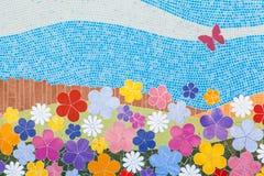 Mosaico hecho a mano Fotos de archivo libres de regalías