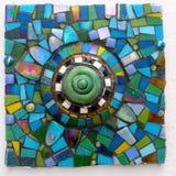 Mosaico hecho a mano Foto de archivo libre de regalías