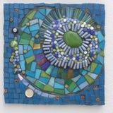 Mosaico hecho a mano Imágenes de archivo libres de regalías