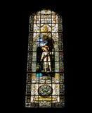 Mosaico hermoso dentro de una iglesia católica Imagen de archivo libre de regalías