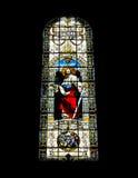 Mosaico hermoso dentro de una iglesia católica Foto de archivo libre de regalías