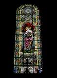 Mosaico hermoso dentro de una iglesia católica Imágenes de archivo libres de regalías