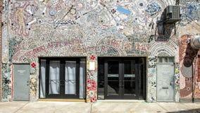 Mosaico Isaiah Zagar, Philadelphia de la pared Imagen de archivo libre de regalías