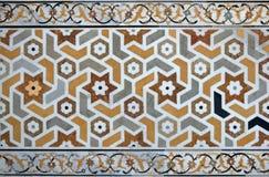 Mosaico islámico de Ansient Fotografía de archivo libre de regalías