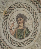 Mosaico in Kourion, Cipro Immagine Stock