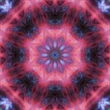 Mosaico mágico de la energía del ornamento de la tarjeta de la elegancia colorida del caleidoscopio del extracto libre illustration