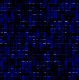 Mosaico magico blu scuro Fotografie Stock