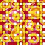 Mosaico moderno Immagini Stock