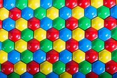 Mosaico multi-colorido encaracolado ou enigma Foto de Stock