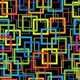 Mosaico multicolorido do teste padrão sem emenda Foto de Stock Royalty Free