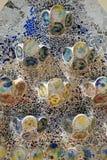 Mosaico nas casas Batilo Fotos de Stock Royalty Free