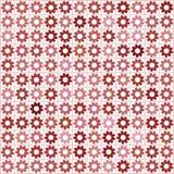 Mosaico nas máscaras do vermelho Fotografia de Stock