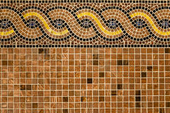 Mosaico no estilo antigo. Imagens de Stock