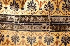 Mosaico no jardim do museu da casa de Gaudi, Barcelona, Espanha Imagem de Stock