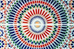 Mosaico oriental em Marrocos Fotos de Stock Royalty Free