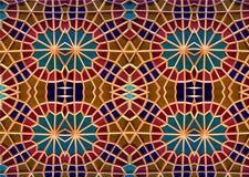 Mosaico oriental Testes padrões e ornamento Arte do mosaico Imagens de Stock