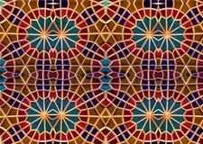 Mosaico oriental Testes padrões e ornamento Arte do mosaico Fotos de Stock Royalty Free