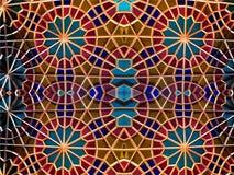 Mosaico oriental Testes padrões e ornamento Arte do mosaico Fotos de Stock