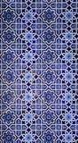 Mosaico oriental velho na parede, Usbequistão Fotos de Stock Royalty Free