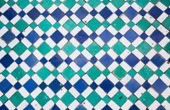 Mosaico orientale nel Marocco, Nord Africa Fotografie Stock