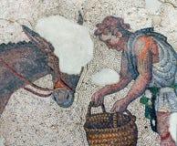 Mosaico a partir del período bizantino Fotografía de archivo