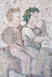 Mosaico a partir del período bizantino Imagen de archivo libre de regalías