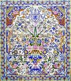 Mosaico persiano fotografia stock