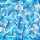 Mosaico poligonale luminoso Fotografie Stock Libere da Diritti