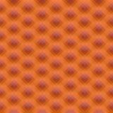Mosaico polivinílico bajo caleidoscópico del vector del estilo del rombo Fotos de archivo libres de regalías