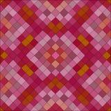 Mosaico polivinílico bajo caleidoscópico del vector del estilo del triángulo Imagen de archivo