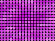 Mosaico polivinílico bajo del vector del estilo del círculo de la pendiente Fotografía de archivo
