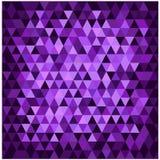 Mosaico porpora astratto Fotografia Stock