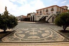 Mosaico que pavimenta en el mercado Velas. Fotos de archivo libres de regalías