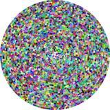 Mosaico radiale Fotografia Stock