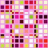 Mosaico retro del azulejo stock de ilustración