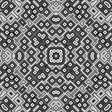 Mosaico retro preto e branco da arte Foto de Stock
