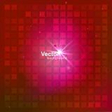 Mosaico rojo, vector Imagenes de archivo