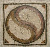 Mosaico romano antigo Imagens de Stock