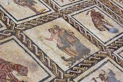 Mosaico romano antigo em Ostia Imagens de Stock Royalty Free