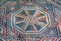 Mosaico romano della villa - Sicilia Fotografie Stock Libere da Diritti