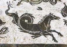 Mosaico romano viejo cerca de Sevilla, España Imágenes de archivo libres de regalías