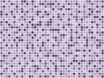 Mosaico roxo Foto de Stock Royalty Free