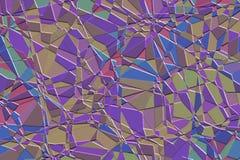 Mosaico roxo Imagem de Stock Royalty Free
